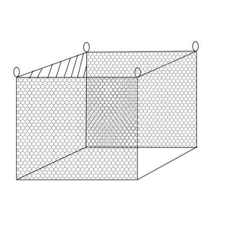 Cages à poissons type pantènes