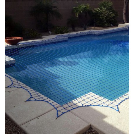 Filet de couverture piscine