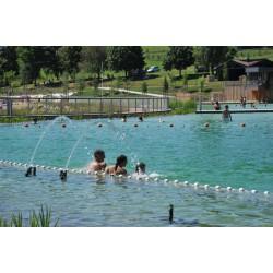 Lignes d'eau pour périmètre de baignade